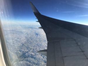 成田空港からホノルル空港へ