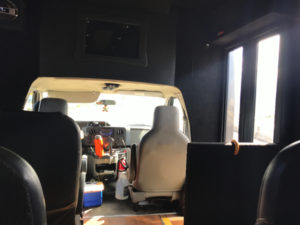 LeaLea送迎バスの車内