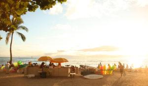 ハワイ新婚旅行のブログです。
