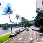 ハワイは右側通行