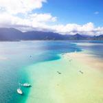 ハワイのサンドバー