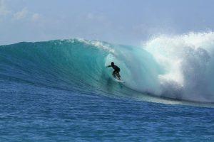 ノースショアのサーフィン大会